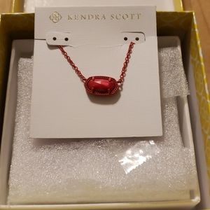 Kendra Scott Red necklace